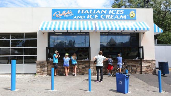 Ralph's Italian Ices & Ice Cream in Mamaroneck.