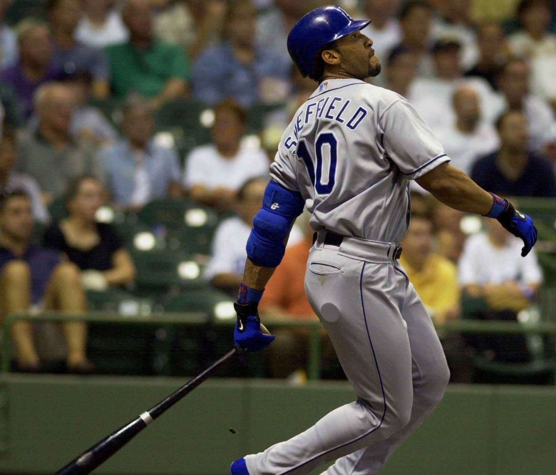 Gary Sheffield hit 509 home runs and had six top 10 finishes in MVP voting.