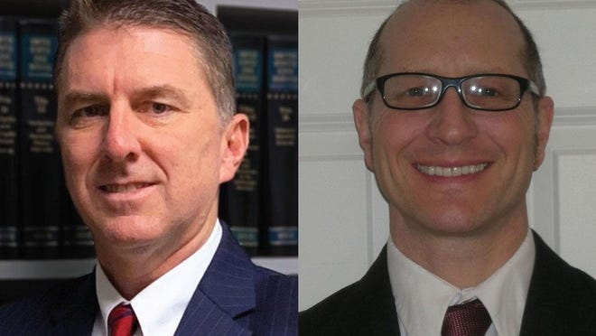 Thad Luke, left, and Mark Rose ran in this year's Republican primary for Herkimer County Family Court judge.