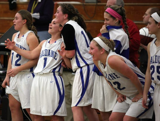 Haldane girls basketball 2014 regional final