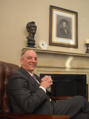 Democrats are hoping the election of Democratic Gov. John Bel Edwards will help fellow Democrats running for the Senate seat in Louisiana. Edwards met with Louisiana congressional lawmakers in the U.S. Capitol recently.