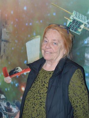 Joyce McClendon Evans at the NASA Research Program at the University of Kentucky