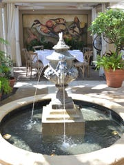 The fountain courtyard at Campiello is a gathering