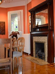 The residence at 234 W. Frederick St. is part of this year's Staunton Holiday House Tour.