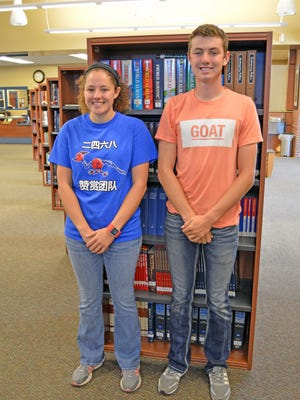Anna Fisher, 18-year-old daughter of David and Tracy Fisher and Christopher Hunt Nosari, 17-year-old son of Chris and Kelley Nosari two Mountain Home High School Seniors have been named National Merit Scholarship finalists.