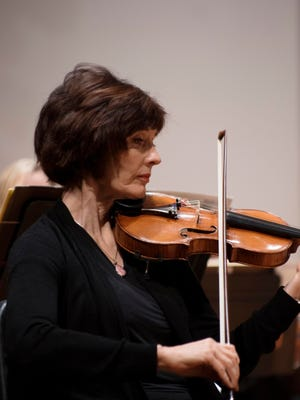 Marion Judish performs with the St. Cloud Symphony Orchestra.