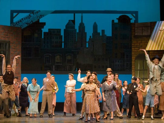 "The Summer Youth Musical Theater Workshop produced ""Wonderful Town"" in 2006 at Binghamton University."