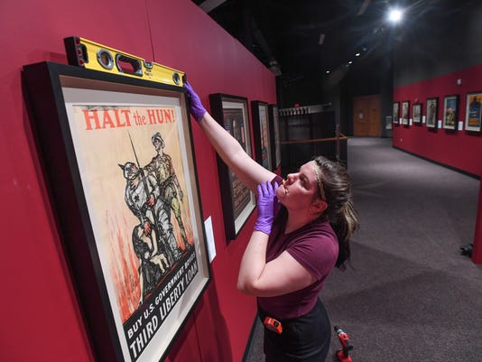 ÒOver the Top: American Posters from World War I,Ó exhibit