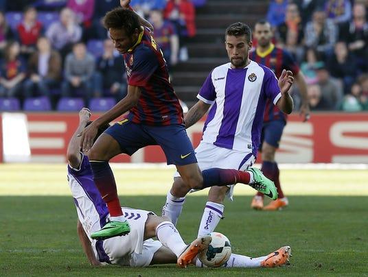 2014-3-8 Barca loses