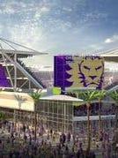 Orlando City Soccer Club's new stadium will not be ready until the 2017 season.