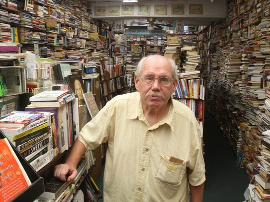 "John ""Jack"" Dunnigan is owner of Pickwick Book Shop on South Broadway in Nyack."