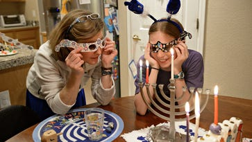 Celebrate and be happy: Hanukkah with the Jones family