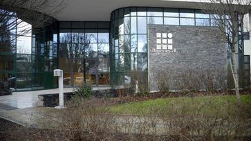 A picture taken on Jan. 15, 2016 shows the Biotrial laboratory building in Rennes where a clinical trial of an oral medication left one person brain-dead and five hospitalized.