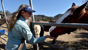After the Fire: The Thomas Fire took their Ventura County home; a stranger saved their horses