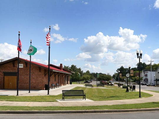 The picturesque Smyrna Depot was part of a revitalization