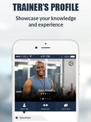 Among the features of the Link To Fitness' mobile app