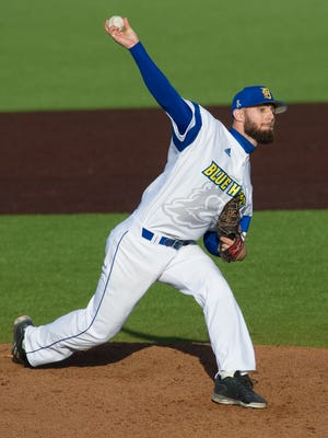 Zach Flowers and the University of Delaware baseball team swept Fairfield on Saturday.