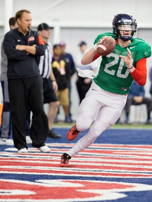 Could Ole Miss turn to freshman Shea Patterson after Chad Kelly's season-ending injury?