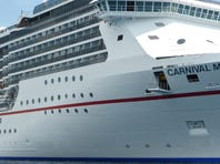 Carnival Cruise Line's newest ship, the Carnival Breeze.