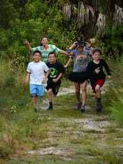 Deputies in the Golden Gate Estates District hosted a Zombie Run 5K  last year in fields and orange groves behind Palmetto Ridge High School, encouraging participants to run for their lives.