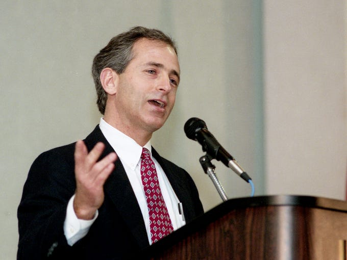 Feb. 8, 1994: Chattanooga developer Bob Corker, one