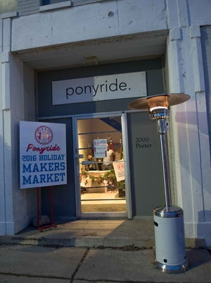 Ponyride 2016 Holiday Makers Market featured gifts, food, art and fashions from over 65 vendors on December 14, 2016. The non profit located within a 30,000 square foot building is to the growth within artists, entrepreneurs and non profits.