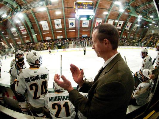 NCAA HOCKEY: NOV 25 Colgate vs. Vermont Men's Hockey