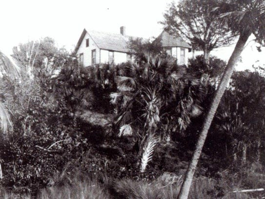 The Tyndall family home, known as El Nido.