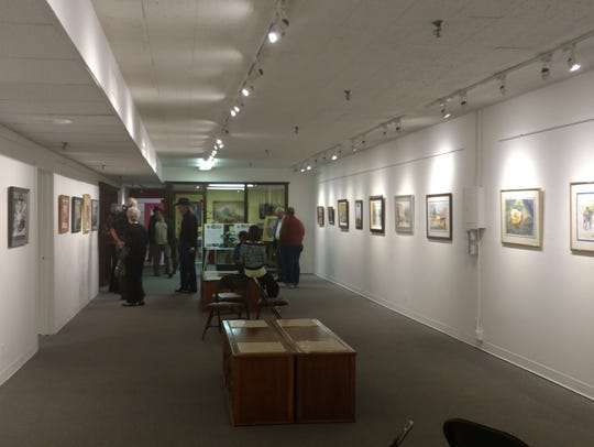 Crossland Gallery will have the exhibit up through