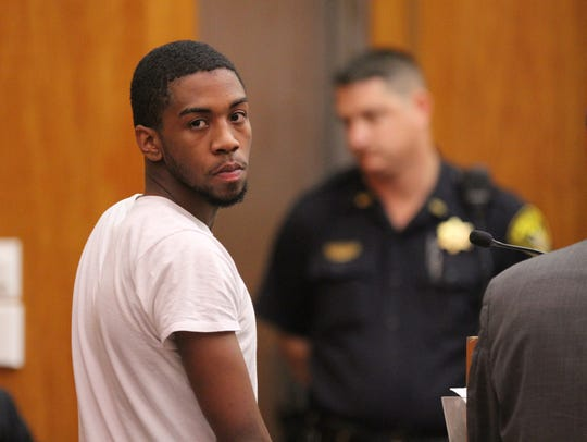 Jalen Everett during a previous court appearance.