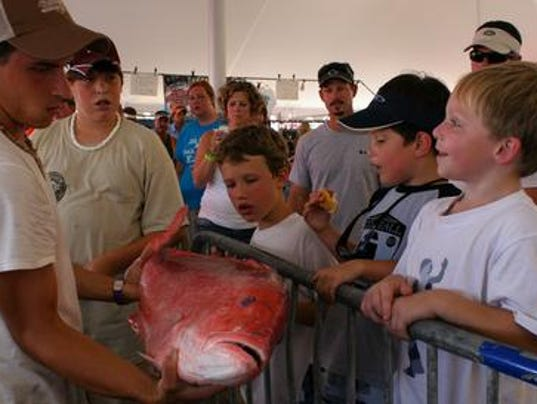 Deep sea fishing rodeo features 2 new changes for Deep sea fishing gulfport ms