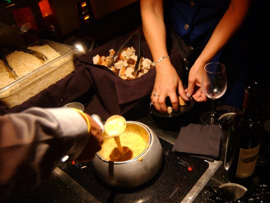 The Melting Pot  has an extensive wine list to pair with its fondue courses.