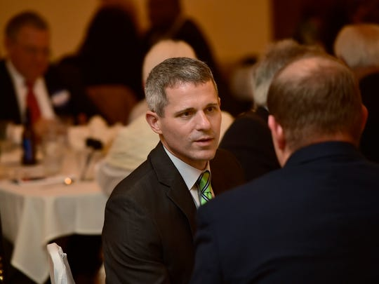 State Rep. Rob Kauffman attends the Franklin County