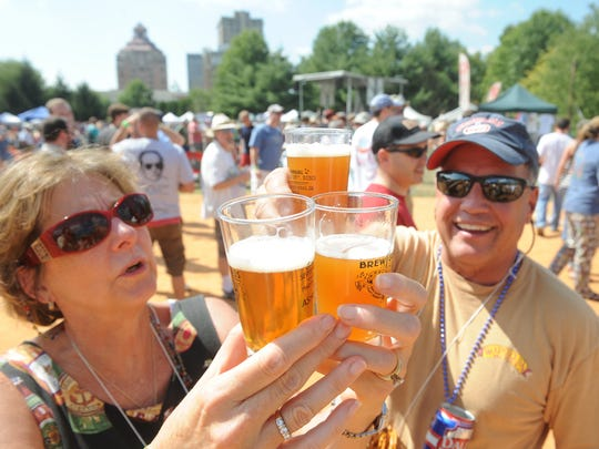Raise a glass: Breweries in the four-county Asheville Metro made a major contribution to the regional economy in 2016.