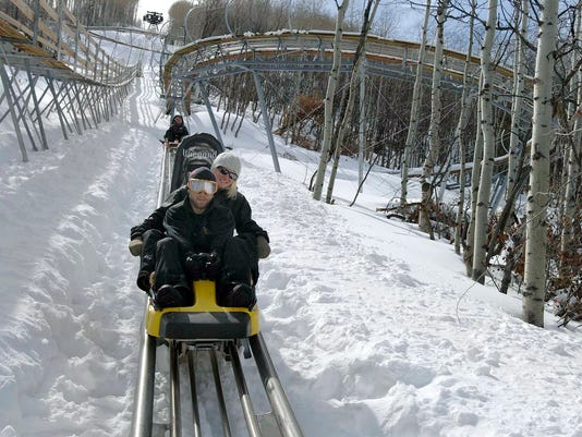 SKI RESORT-OKEMO ROLLER COASTER 2