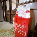 A Drug Collection Unit has been installed at Elmira City Hall for residents to place unused, unwanted or expired medication inside. The West Elmira and Horseheads town halls also have medication depositories.