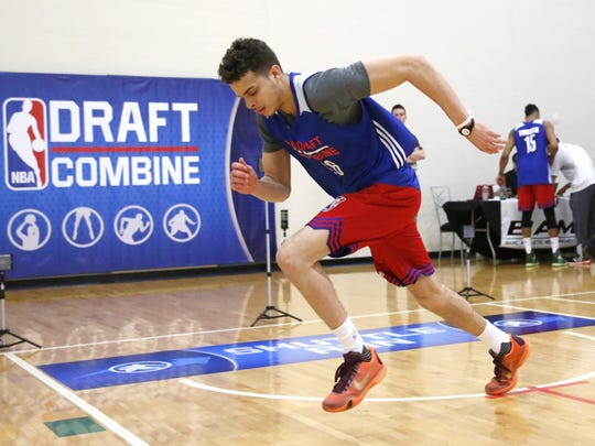 Former Pike standout R.J. Hunter should hear his name called during Round 1.