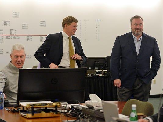 GPG Packers war room NFL Draft