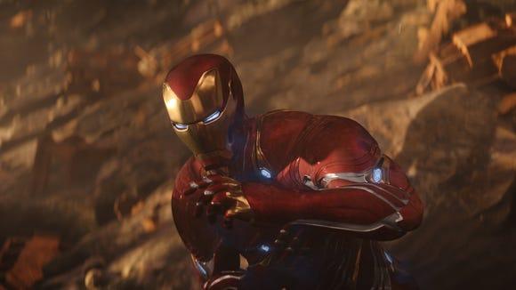 """Iron Man (Robert Downey Jr.) in """"Avengers: Infinity War."""""""