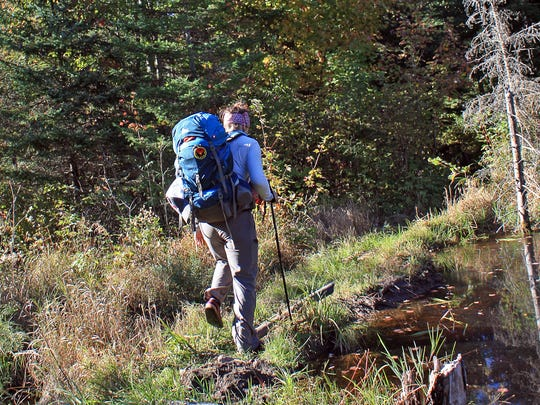 The North Country Trail offers backpacking opportunities in northern Wisconsin.
