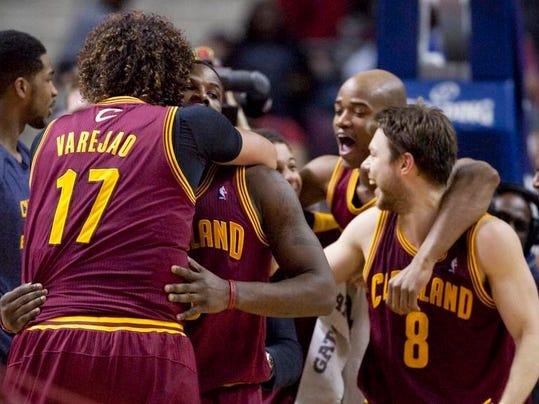 Cavaliers Playoff Push Basketball