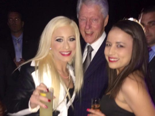story news politics ray hagar two bunny ranch girls and bill clinton walk into a gala with video