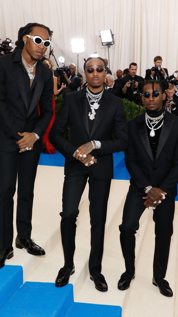 Takeoff, Quavo and Offset of the group Migos