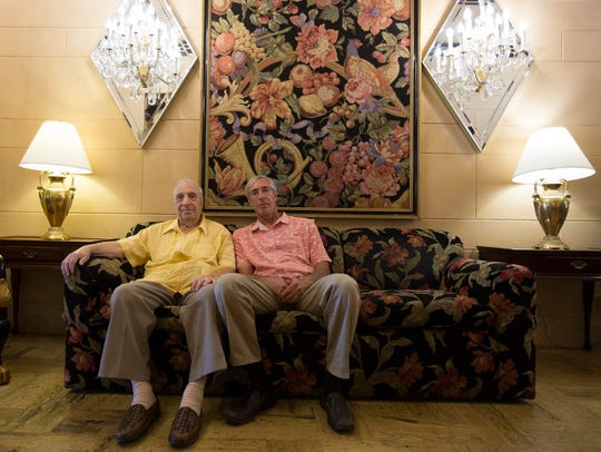 The owners of the Hotel San Carlos, Gregory and Robert