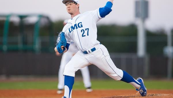 Fletcher's Logan Allen has played his past two years of high school baseball for the IMG Academy out of Bradenton (Fla.).