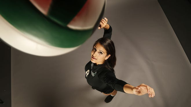 Azcentral's high school volleyball small-school player of the year is Julisa Carrizosa from Greenway High.