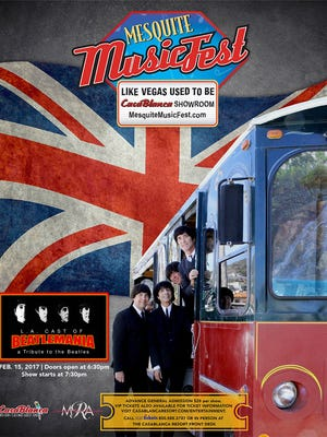 LA cast of Beatlemania will perform at the CasaBlanca Showroom on Feb. 15 at 7:30 p.m.