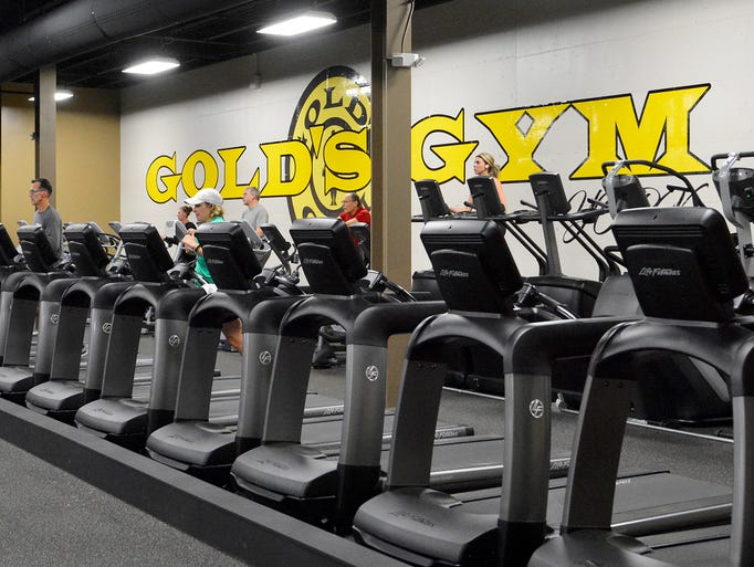 Gold's Gym is officially opening their newest location,