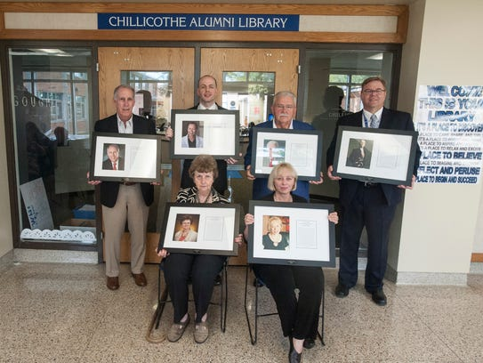 The Chillicothe High School Alumni Association inducted