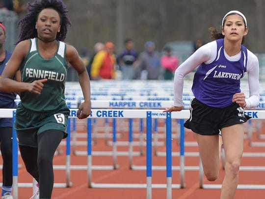 Pennfield's Arabia Bacon and Lakeview's Rose Tecumseh.